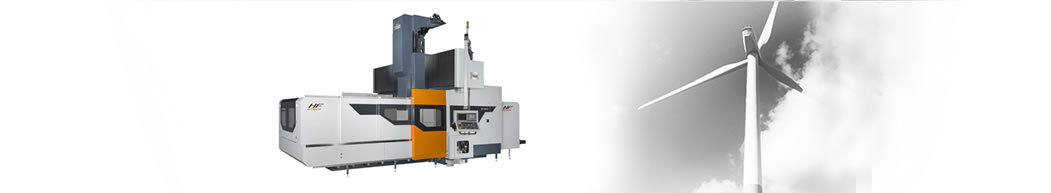 HF Series High Efficiency Double Column Machine Tool